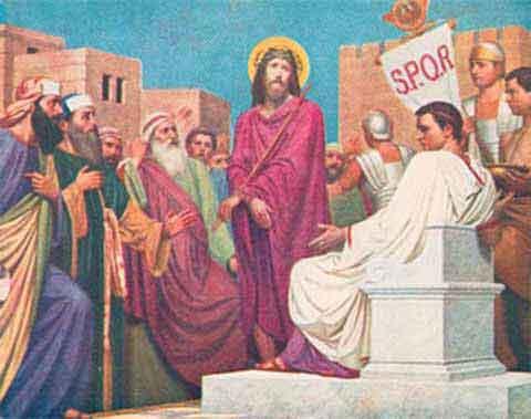 chaire en or croix catholique