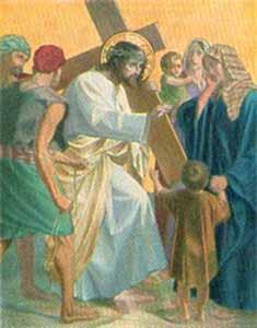 8 – Jésus rencontre les femmes de Jérusalem