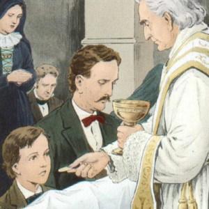 Un Évêque refuse de donner la Sainte Communion à ceux qui s'agenouillent pour recevoir Jésus ! Eucharistie-a-Genoux-et-dans-la-Bouche