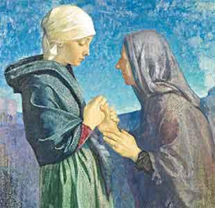 « Prière pendant l'Avent » de Charles de Foucauld Visitation-Marie-Elisabeth
