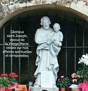 De l'importance de Saint Joseph dans nos vies... Cotignac (Var) Joseph-Cotignac