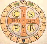 Lexique sur la PRIÈRE et lexique HISTORIQUE des SAINTS - Page 2 Croix-de-Saint-Benoit-Medaille