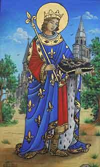 Prière à St Louis Louis-IX-de-France