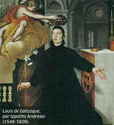 La Sainte Vierge Marie - La Foi et les Œuvres volume 3 – Vicomte Walsh 19 eme siècle  Louis-de-Gonzague-3