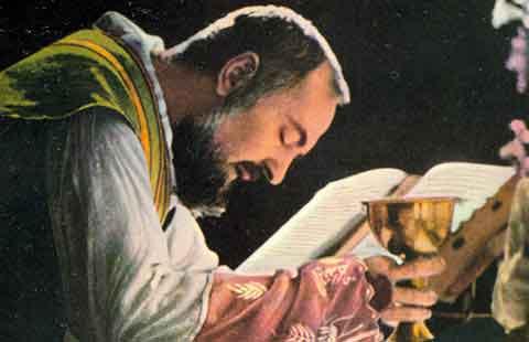 Prière de Marthe Robin Padre-Pio-de-Pietrelcina-Eucharistie